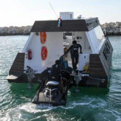 Необычный стартап появился в Дубае - Фуд-корт на воде.